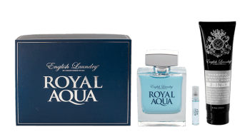 ENGLISH LAUNDRY ROYAL AQUA GIFT SET
