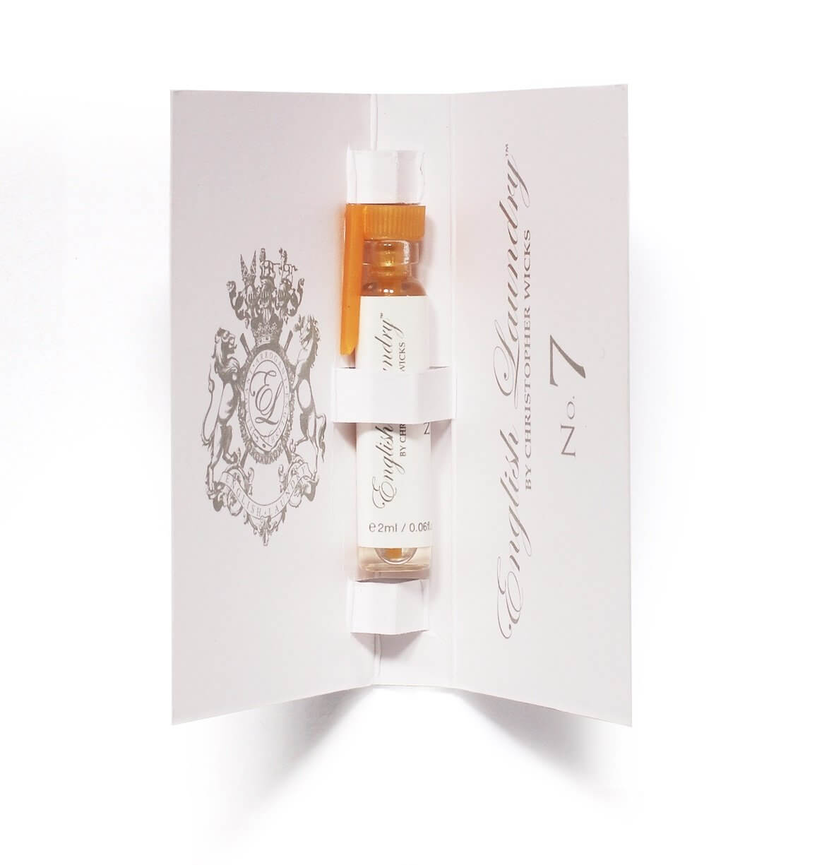 Buy 2ml Vial No 7 For Her English Laundry Fragrance For