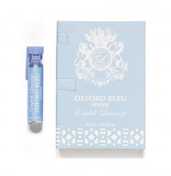 Oxford Bleu Femme 2ml Vial on Card