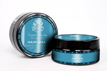 English Laundry Oxford Bleu Shiny Hair Wax, 3oz