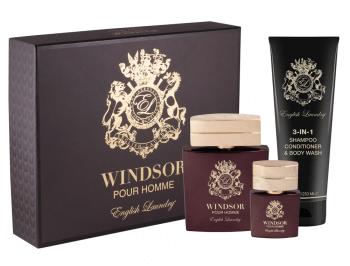 English Laundry Windsor Pour Homme 3-Piece Fragrance Gift Set For Men