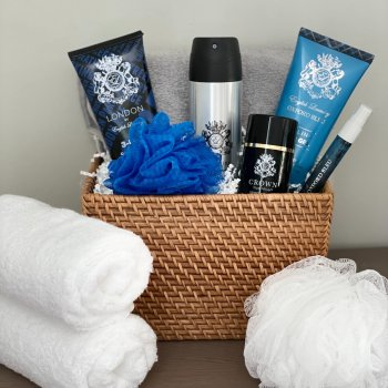 English Laundry Cologne Fragrance Spa Gift Basket For Men