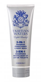 Tahitian Waters 3-in-1 Shampoo, Conditioner, & Body Wash For Men (8oz/236ml)