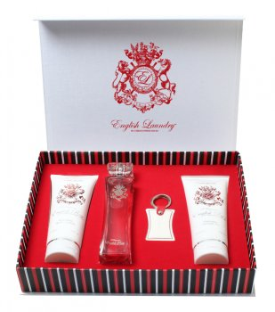English Rose 4 Piece Gift Set