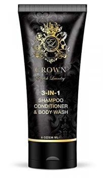 Crown 3-in-1 Shampoo, Conditioner, Body Wash, 8oz