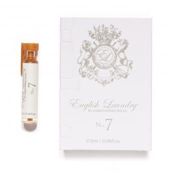English Laundry: No.7 For Her 2ml Vial on Card