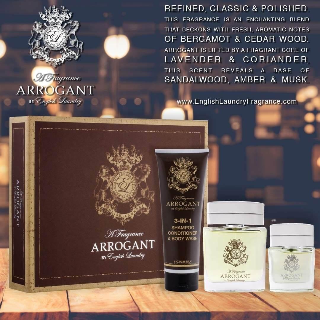 Buy Arrogant 3 Piece Gift Set English Laundry Fragrance
